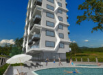 Modern apartments for sale in Alanya (7)